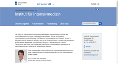 Preview of intensivmedizin.usz.ch