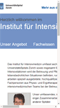 Mobile Preview of intensivmedizin.usz.ch