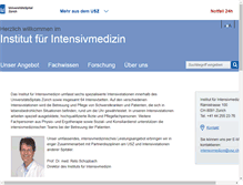 Tablet Preview of intensivmedizin.usz.ch